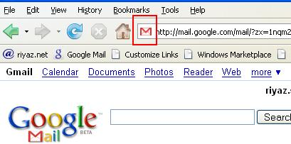 Gmail's old favicon