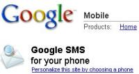 google-sms