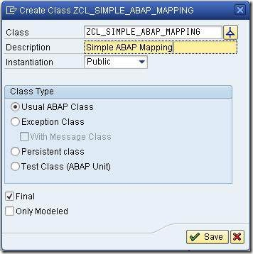 abap mapping class