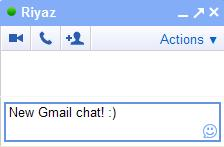 New Gmail/Google Apps Mail Chat Window