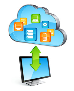 Send large files over cloud