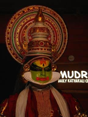 Sathwika, the Kathakali Hero
