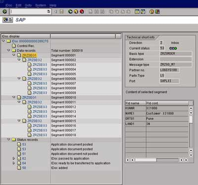 SAP Transaction WE02
