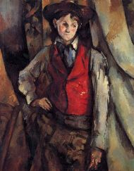 The Boy in the Red Vest (1894/95) by Paul Cézanne was one of the pieces taken.