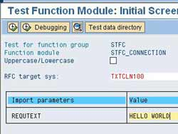STFC_CONNECTION Input