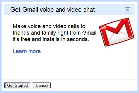 gmail video chat