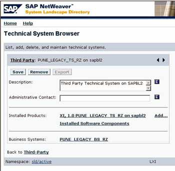 SLD Technical System